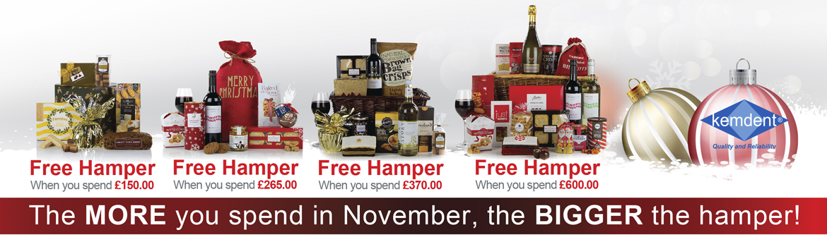 Kemdent Christmas Hamper Promotion