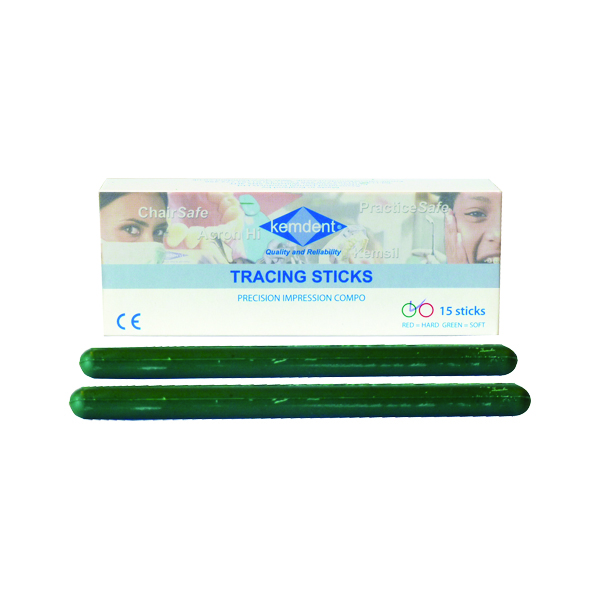 Kemco Tracing Sticks Green 15/box
