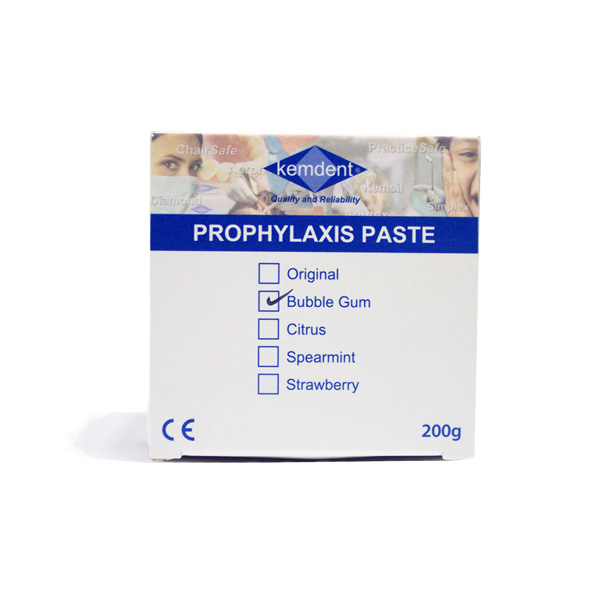 Kemdent Prophylaxis Paste Bubblegum 200g