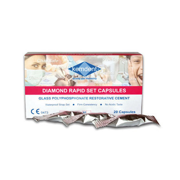 Diamond Rapid Set Capsules A3 20/box