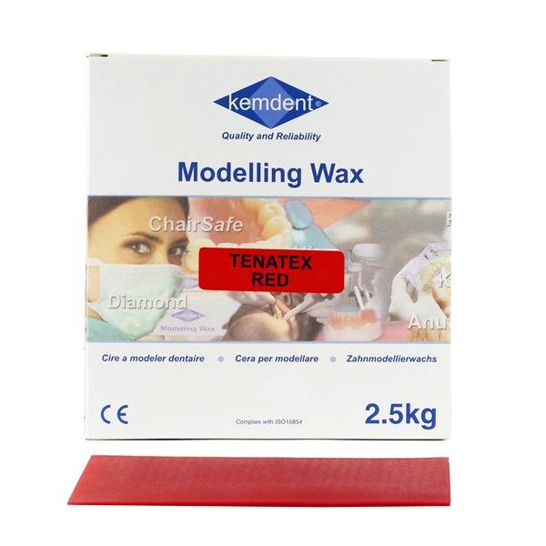 Tenatex Wax Red 2.5kg